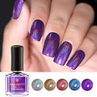 Wholesale BORN PRETTY Holographic Laser Nail Polish ml Flourish Series Varnish Shining Glitter Nail Art Lacquer Polish