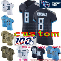 20f05e1d4 Wholesale titans jersey for sale - Group buy 100th patch Mens Women Youth  Tennessee Mariota Byard