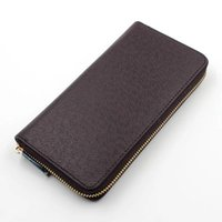 Wholesale leather fur purse for sale - ZIPPY WALLET VERTICAL the most stylish way to carry around money cards and coins famous design men leather purse card holder long business