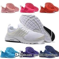 mulheres presto air venda por atacado-Presto Sapatos Mulheres Ultra BR QS Amarelo Rosa Prestos Preto Ar Branco Oreo Sapatos Masculinos Formadores