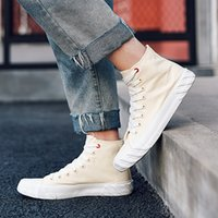 seilstiefel groihandel-Fashion Ankle Boot Skate Sneakers 50% Ulzzang beiläufige Plimsolls Jugend Rope soled Schuhe Hip-Pop Trendy Schuhe Back To School Board Schuhe