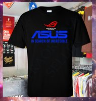 Wholesale asus laptop for sale - New Asus ROG Republic of Gamers Gaming Laptop and PC T Shirt S XL Custom t shirt logo text photo Mens Womens T shirt men
