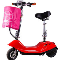 Wholesale brush manufacturers resale online - Manufacturers specials mini electric car ladies adult scooter small generation drive single balance car Dolphin brush