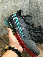 sports en aluminium achat en gros de-CACTUS PLANT FLEA MARKET CPFM X VPM vapeurs 2019 Chaussures de course Femmes Hommes PRM Oregon Aluminium Bleu Brillant Crimson Trainers Sport Sneakers