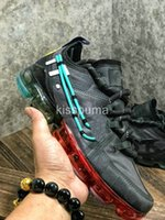 alüminyum sporlar toptan satış-KAKTAN TESISI FLEA MARKET CPFM X VPM Buharları 2019 Koşu Ayakkabıları Kadın Erkek PRM Oregon Alüminyum Mavi Parlak Crimson Eğitmenler Spor Sneakers