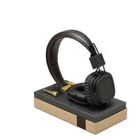 dj caliente al por mayor-auriculares caliente Marshall Major con el MIC Deep Bass DJ Auricular Hi-Fi de alta fidelidad auricular profesional de DJ del monitor sobre la oreja los auriculares