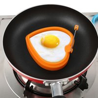 детская форма оптовых-5 Типов Завтрак Творческий Силиконовые Multi Type Яйцо Плесень Жареные Яйцо Плесень Блин Плесень Дети DIY инструменты для приготовления пищи Оптовые Продажи P20
