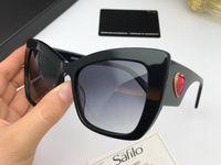 adoro óculos venda por atacado-Luxo charme olho de gato óculos de sol para as mulheres 4349 simples amor coração logotipo elegante designer óculos óculos de sol feminino eyewear com pacote