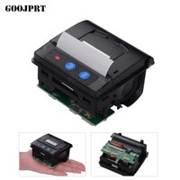 Wholesale lowering module for sale - Group buy GOOJPRT QR203 Printer Module mm Low Noise Direct Thermal Printing Mini Panel Mobile Receipt Printer Serial Interface RS C