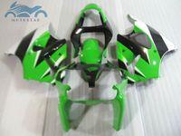 Wholesale kawasaki zx6r fairings parts for sale - High quality fairings for fairing kit for KAWASAKI ninja ZX6R green black white ZX R body fairing parts