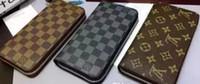 alte oldtimer großhandel-Berühmte Marken Alte Blume Single Pull Brieftasche 2018 neue Geldbörse Top-Qualität Handytasche Mode Card Brieftasche KEINE BOX