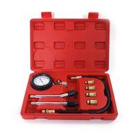 набор инструментов для двигателя оптовых-Cylinder Auto Professional Engine Tire Accessories Portable Pressure Gauge Tool Kit Compression Tester For Car Compressometer