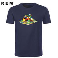 roupa da teoria do big bang venda por atacado-Novo The BIG BANG TEORIA T-Shirts Homens Filme Sheldon Cooper Sitcoms Hip Hop Manga Curta T Camisa Dos Homens de Roupas Frete Grátis