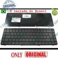 laptop hp pavilhão venda por atacado-Novo teclado Notebook Laptop para HP Compaq Presario CQ56 CQ62 Pavilion G56 G62 Preto Brasil BR Versão - 9Z.N4SSQ.01B