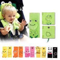 ingrosso cuscino della cintura-Kidlove Baby Cartoon Car Seat Belt Strap Cover Cuscino per neonati Passeggino Passeggino Cintura di sicurezza per bambini