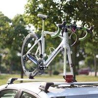 montagens de carro de bicicleta venda por atacado-Cremalheira de bicicleta Car Bike Racks Carrier Quick-release Alloy Garfo Liga Da Bicicleta Do Carro Bloco de Montagem Para MTB Estrada Acessórios # 627116