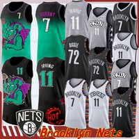 jerseys estoque de basquete venda por atacado-7 Kevin Durant Kyrie Mens 11 Irving College Basketball Jerseys Net 2019 Universidade Nova NCAA Basketball Jerseys Em armazém S-XXL