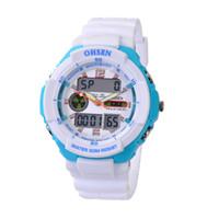 часы ohsen для дайвинга оптовых-Модный дизайн OHSEN 1136 3ATM водонепроницаемые спортивные цифровые часы DIVE