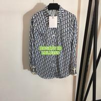 blusen langarm verkauf großhandel-Heißer Verkauf Frauen Top Multi Shirt Brief Bluse High-End Benutzerdefinierte Revers Hals Langarm Shirt Brief Bluse