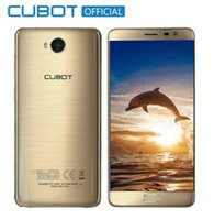 ingrosso cubot phone-Smartphone originale Cubot A5 Android 8.0 MT6753 Octa Core 5,5 pollici FHD Cell Phone 3 GB RAM 32 GB ROM 13MP Fingerprint Mobile Phone