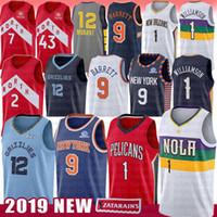 ingrosso pallacanestro maschile-Kawhi NCAA 2 Leonard Basketball Jersey College Pascal 43 Siakam 1 Zion Williamson 12 Ja Morant 9 RJ Barrett Kyle 7 Lowry Maglie uomo