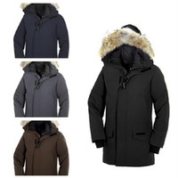 mens canada toptan satış-Lüks Kanada Aşağı Ceket Erkek DEISGNER Kış Ceket Erkekler Kadınlar Kaliteli Kanada Kış Ceket Dış Giyim Tasarımcı Palto