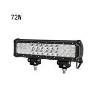 Wholesale led cree light bar off road resale online - 12pcs quot W CREE LED Work Light Bar lm W Cree Waterproof for Jeep off road Van ATV SUV WD x4 Pickup