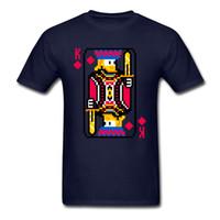 elmas grafikleri toptan satış-Diamonds Tees Of Yaz T-Shirt Grafik Tshirt Erkek T Shirt Poker Kart Pamuk K Tops Baskı Giysi Ücretsiz Kargo