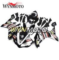carenados r1 fimer al por mayor-Funda Sportbike Fimer Sterilgarda negro blanco para Yamaha YZF1000 R1 Año 2007 2008 Juego completo de carenado R1 07 08 Piezas de bicicleta Nuevo