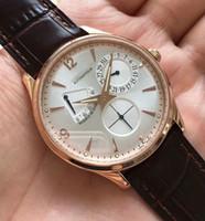 luxo relógio de ponta venda por atacado-Novo High End Top Cal. 938 homens Automáticos designer Esporte dos homens Mecânicos de Aço Inoxidável Assista mens Auto-vento de Luxo Relógios relógios de pulso