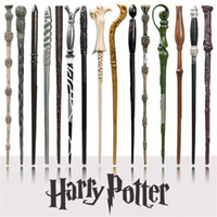 Wholesale harry potter online - Harry Potter Magic Wand Creative Cosplay Styles Hogwarts Harry Potter Series New Upgrade Resin Non luminous Magical Wand For Big Kids Toy