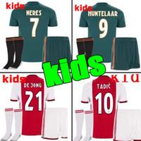 9ec0388ff9d 2019 2020 Ajax FC Soccer Jerseys home kids kits away 19 20 Customized  7  NERES   10 TADIC  4 DE LIGT  22 ZIYECH Football Shirt