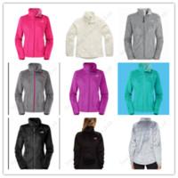 Side North C112103 Warm Coats Outdoor Tops Softshell Womens Winter Zip The Fleeced Double Jacket Face Soft Fleece Outwear Windbreaker OP80kwXn