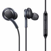 verdrahtung headset buchse großhandel-In-Ear-Sportkopfhörer mit S8-Kabel und 3,5-mm-Mikrofonlautstärke für alle Samsung s8- und 3,5-mm-Buchsen