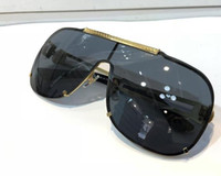 Wholesale sunglasses packaging design resale online - Luxury Sunglasses For Men Fashion Design Full Frame UV400 UV protection Lens Steampunk Summer Square Style Comw With Package