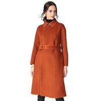 Vestes Les Long 2019 Vent Vrac Pour Impression Hiver En Laine Pattern V Femmes Profond D Nouvelles Moraillon Fonds Pardessus Mode Manteaux De NOyn8vm0w