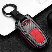 Wholesale q5 cars for sale - Group buy Car Styling Accessories Key Bag Cover ABS Decoration Protection Key Case Key Chain for Audi A6 RS4 S5 A3 Q3 Q5 S3 A4 Q7 A5 TT