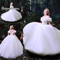 Wholesale maternity wedding dress beaded lace resale online - 2020 White Plus Size Wedding Dresses Lace Appliques Bridal Ball Gown Bride Party Wear Beaded Off Shoulder