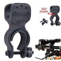 éclairage de vélo flexible achat en gros de-Support flexible de bicyclette 2.0-2.6cm / 0.8-1.0inch de support de bâti de 360 degrés LED de support de lumière de vélo