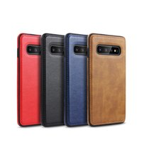 Wholesale stitch phone cases for sale – best Car line skin stitching mobile phone case for s10lite mobile phone case s9plus protective cover note9 soft shell