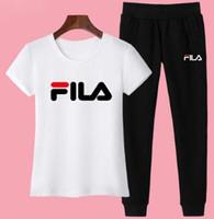 kadın moda eşofmanı takım setleri toptan satış-0019 Bayan Casual Moda Sonbahar Bahar Uzun Kollu İki parçalı Jogging Yapan Set Bayanlar Güz Eşofman Ter Takım Elbise Siyah Kırmızı Artı Boyutu S-3XL