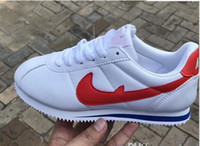 Wholesale brand new hot sneakers for sale - Group buy Hot new brands Casual Shoes men and women cortez shoes PU Leather fashion outdoor Sneakers size