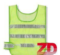 Wholesale reflective safety vest online - Safety Clothing Reflective Vest Hollow grid vest high visibility Warning safety working Construction Traffic vest by ottie