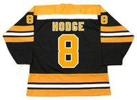 jersey phil esposito venda por atacado-Boston Bruins costume 7 Phil Esposito 1970 7 PIT MARTIN 8 CAM NEELY Ken Hodge 8 Peter McNab 1978 CCM Vintage Old Hockey Jerseys