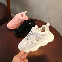 ingrosso scarpe da bambino rosa caldo-Designer V2 Bambini Scarpe per bambini Scarpe per bambini Sneakers Kanye Outdoor West YZ 500 Scarpe da corsa Infantili Scarpe da bambina
