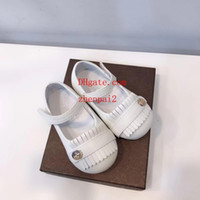 Wholesale baby first walking shoes leather resale online - 2019 Newborn Baby walk Shoes Girls Leather Sports First Walker Infant Prewalker Favourite Hot Sale guc