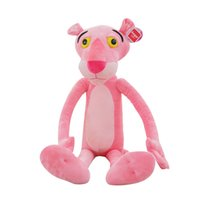 Wholesale pink panther stuff toy for sale - Group buy Leopard Plushtoy Lovely Panther Stuffed Doll cm Kawaii Gift For Girlfriend Valentines Day Children Fashion Popular mt D1