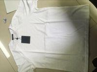 ingrosso usura scura-19ss Summer Street wear Europe Paris Fashion Men Maglietta da dito di ottima qualità, T-shirt con righe scure e maniche corte