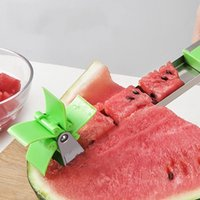 Wholesale watermelon cutter slicer resale online - Watermelon Slicer Cutter Stainless Steel Knife Watermelons Cutting Tongs Fruit Vegetable Tools Kitchen Gadgets tb E1kk