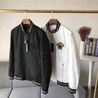 Wholesale uniform hiking for sale - Group buy Luxurious Design Paris Vers baseball uniform Men Coat Medusa Jacket Casual jumper Sweatshirts Sports Pullovers Outdoor Hoodies